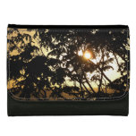 Sunset Through Trees I Tropical Photography Women's Wallet