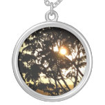 Sunset Through Trees Necklace