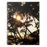Sunset Through Trees Notebook