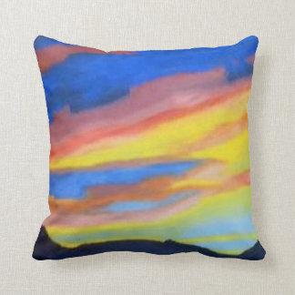 """Sunset Throw Pillow 20"""" x 20"""""""