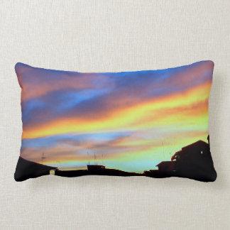 """SUNSET Throw Pillow Lumbar 13"""" x 21"""""""