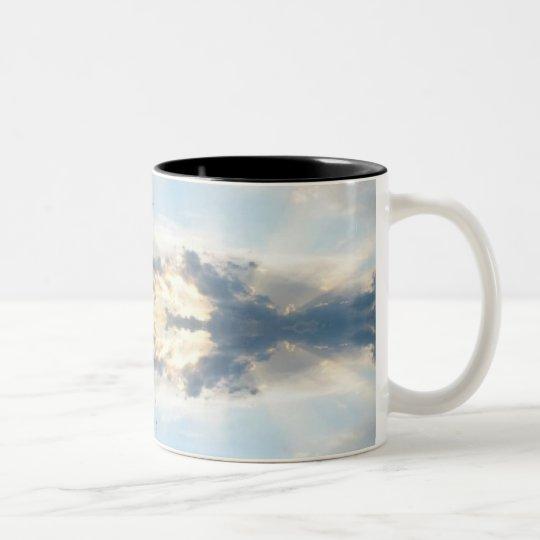 Sunset Tie Dye Mug
