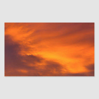 Sunset Tigger Sky Stickers
