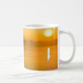 sunset to river Mother of God - Peru Classic White Coffee Mug