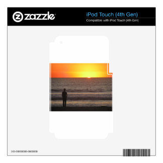 Sunset together iPod touch 4G skin
