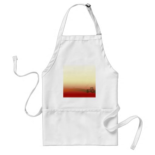 Sunset Tractor Apron