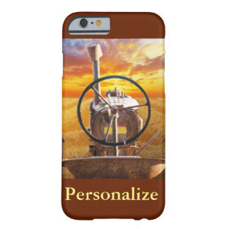 Sunset Tractor Design Barely There iPhone 6 Case