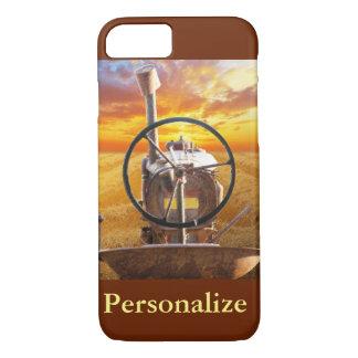 Sunset Tractor Design iPhone 7 Case