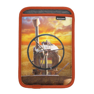 Sunset Tractor Design Sleeve For iPad Mini