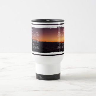 Sunset Transition; 2012 Calendar Travel Mug