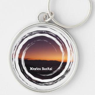 Sunset Transition; Mexico Souvenir Keychain