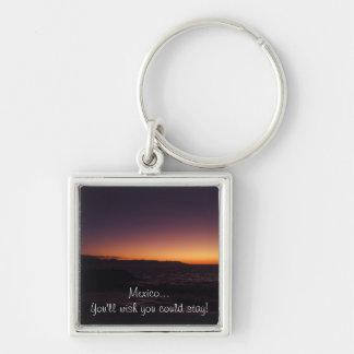 Sunset Transition; Mexico Souvenir Key Chain