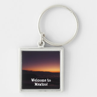 Sunset Transition; Mexico Souvenir Keychains