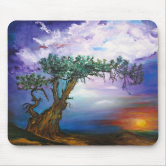 Sunset Tree Collection Mousepads