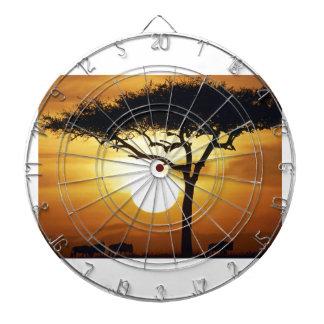 Sunset Tree Dart Board
