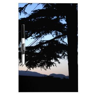 Sunset Tree Dry Erase Whiteboards