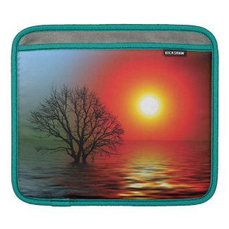 Sunset Tree iPad Sleeves