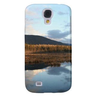 Sunset Tree Lake Reflection HTC Vivid Cover