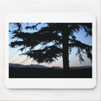 Sunset Tree Mouse Pad