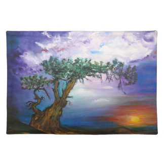 Sunset Tree Placemat