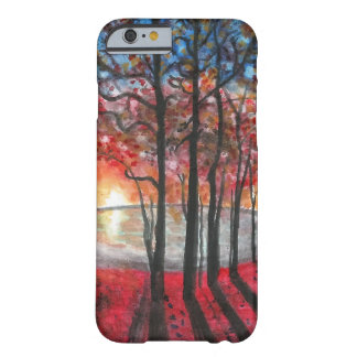 Sunset Trees and Lake Scene iPhone 6 Case