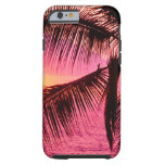 Sunset Tropical Setting Hawaii iPhone 6 Case