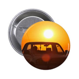 Sunset truck rider button