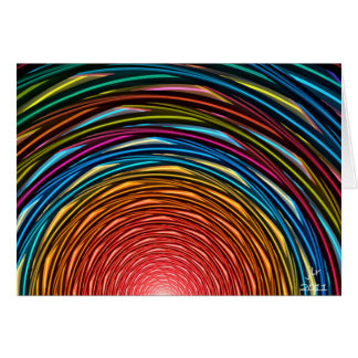 SUNSET TUNNEL GREETING CARDS