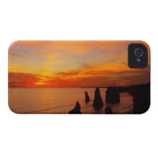 Sunset, Twelve Apostles, Port Campbell National iPhone 4 Cases