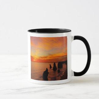 Sunset, Twelve Apostles, Port Campbell National Mug