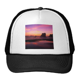 Sunset Twilight Reflections Oregon Trucker Hat