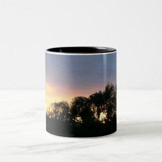 Sunset Two-Tone Coffee Mug