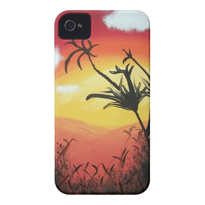 Sunset Valley iPhone 4 Cover