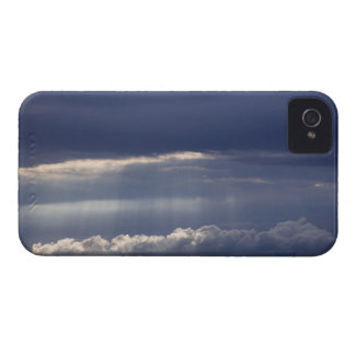 Sunset view from Montepulciano, Tuscany, Italy iPhone 4 Case-Mate Case