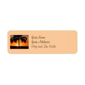 Sunset View Label