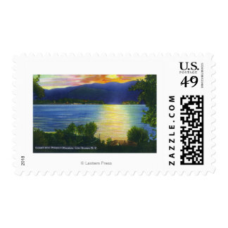 Sunset View of Prospect Mountain Postage