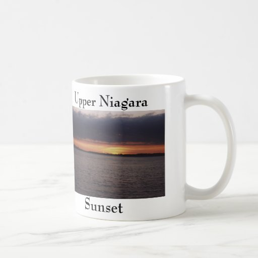 Sunset view of the Upper Niagara River Coffee Mug