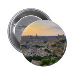 Sunset view of Toledo Spain Buttons