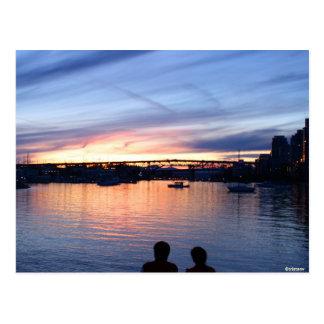 Sunset View Postcard