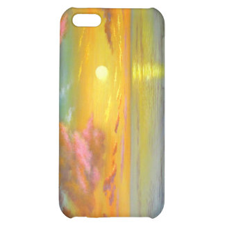 Sunset View Seascape Landscape Painting - Multi iPhone 5C Covers