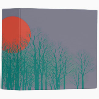 Sunset Vintage 3 Ring Binder
