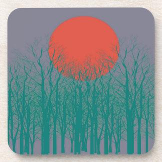Sunset Vintage Drink Coaster
