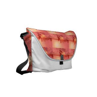 Sunset Wakeboarder Small Messenger Bag