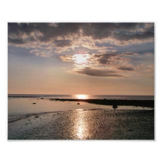 SUNSET WALES ART PHOTO