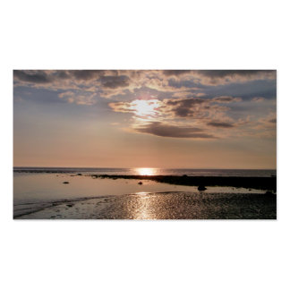 SUNSET WALES UK Double-Sided STANDARD BUSINESS CARDS (Pack OF 100)