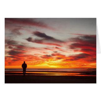 Sunset Walk Card