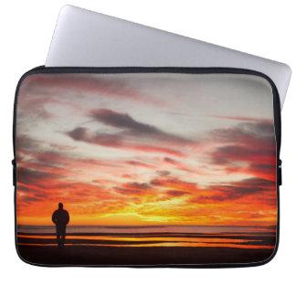 Sunset Walk Computer Sleeve