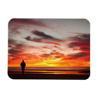 Sunset Walk Magnet