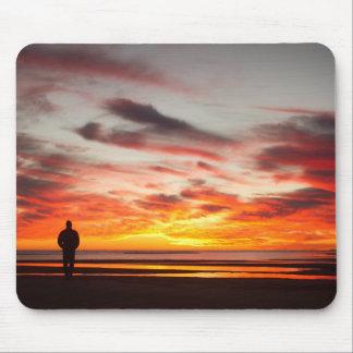 Sunset Walk Mouse Pad