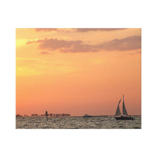 Sunset Wall Art Wrapped Canvas